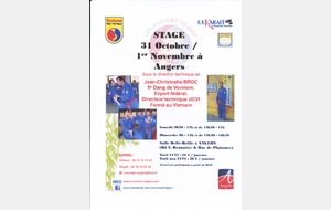 STAGE D'ANGERS