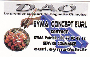 PORTE BAGUETTE CHINOISE EYMA CONCEPT